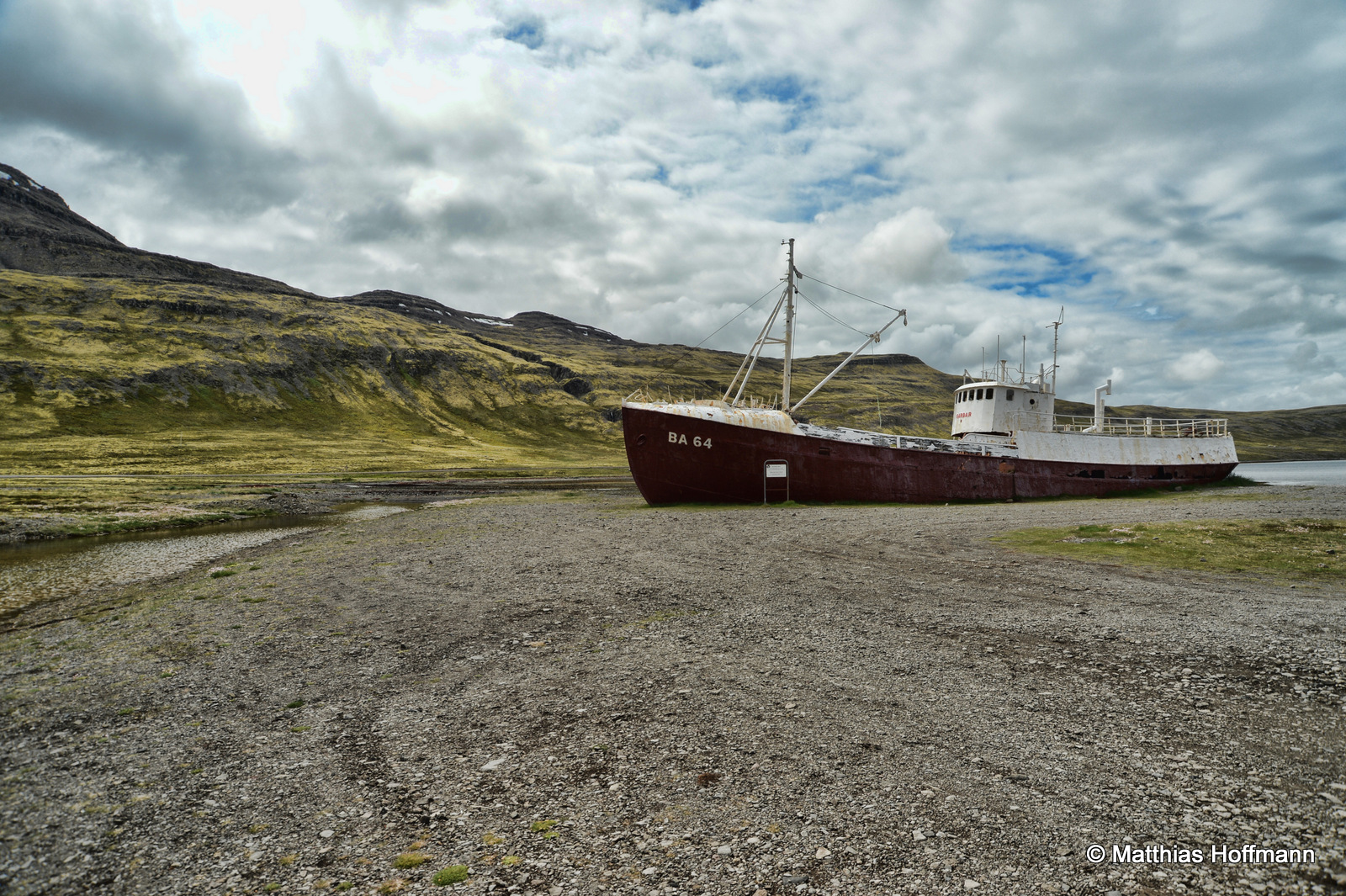 Island | Garðar BA 64 – the oldest steel-ship in Iceland