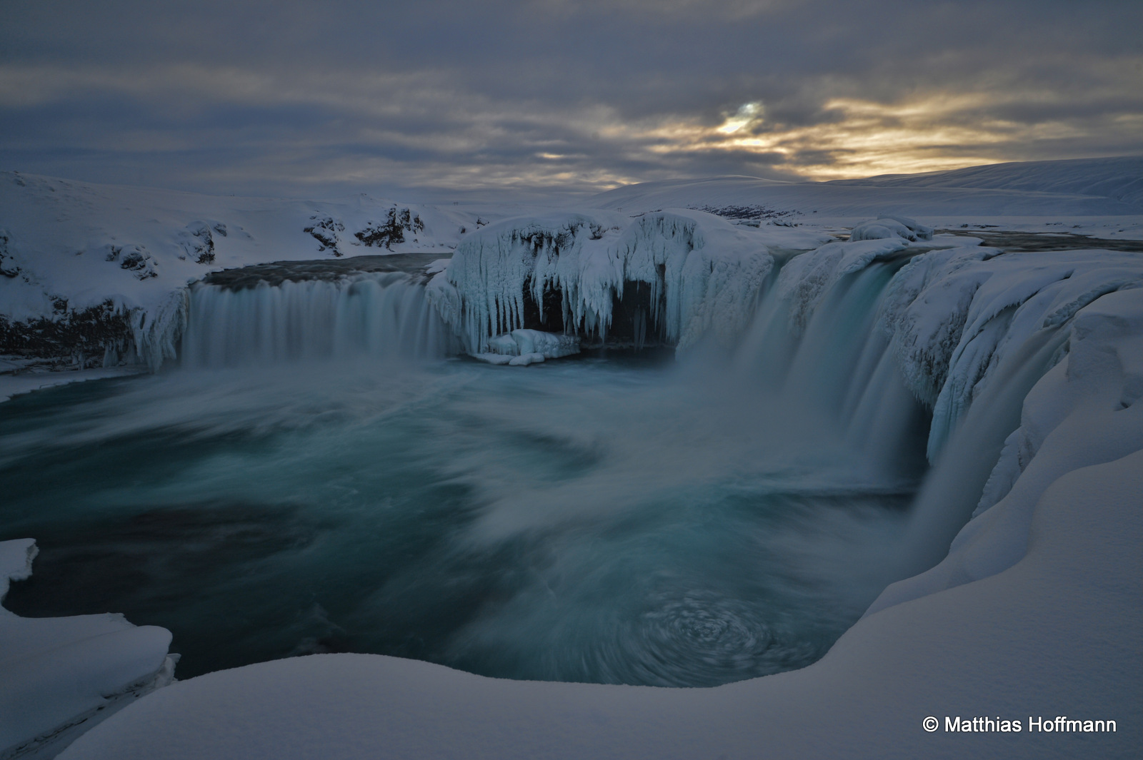 Goðafoss | Island Winter
